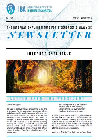 Newsletter- Fall 2019 [EN]