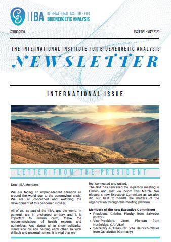 Newsletter - Spring 2020 [EN]
