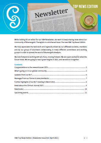 Newsletter (Top News Edition) - Spring 2021 [EN]