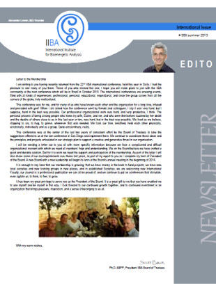 Newsletter- Summer 2013 [EN]